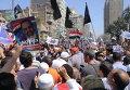 Демонстрация у суда в поддержку Абу Исмаила