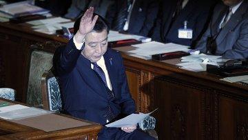 Премьер-министр Японии Ёсихико Нода. Архивное фото