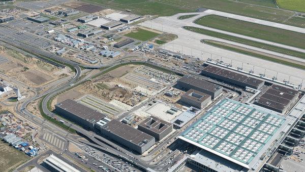 Новое здание терминала аэропорта Берлин Бранденбург. Архивное фото