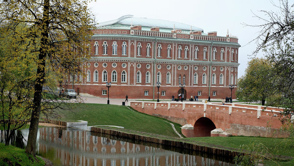 Музей-заповедник Царицыно. Архивное фото