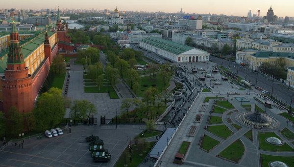 Москва сегодня. Архивное фото