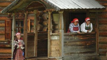Музей-заповедник Малые Карелы в Архангельской области. Архивное фото