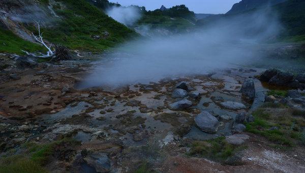 Долина Гейзеров на Камчатке. Архивное фото