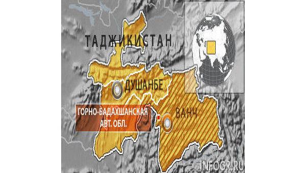 Горно-Бадахшанская автономная область Таджикистана