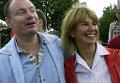 Владимир Потанин с женой Натальей