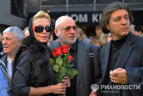 Прощание с артистом Александром Белявским