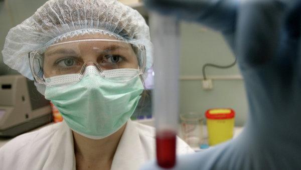 В вирусологической лаборатории