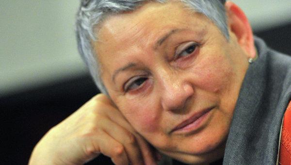 Писательница Людмила Улицкая, архивное фото