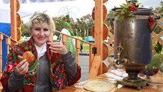 Вологодские фермеры привезли свои товары на ярмарку Урожай - 2012
