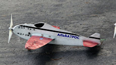 Этап кубка России по авиамодельному спорту в Омске