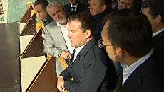 Медведев назвал позором ситуацию со строительством Зенит-Арены
