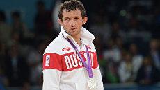 Россиянин Бесик Кудухов, завоевавший серебряную медаль. Архивное фото