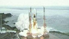 Запуск корабля Конотори-3 к МКС. Кадры с космодрома