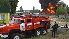 На месте происшествия: утечка хлора в Грузии и пожар в Ангарске
