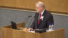 Миронов объяснил, что кроется за повышением штрафа за нарушения на митингах