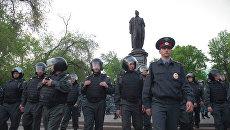 Лагерь оппозиции на Чистых прудах разогнан полицией