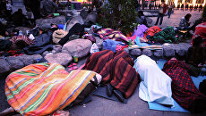 Акция оппозиции на Чистопрудном бульваре