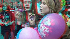 Ежегодный парад мыльных пузырей