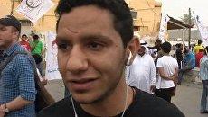 Люди думают, что гонки идут по крови - протестующий против Ф-1 в Бахрейне
