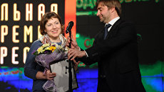 Вручение национальной премия в области печатных СМИ Искра-2011