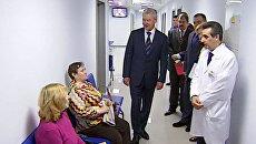 Собянин зашел «на минутку без очереди» в поликлинику № 13