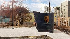 Памятник антифашисту Александру Шморелю в Оренбурге