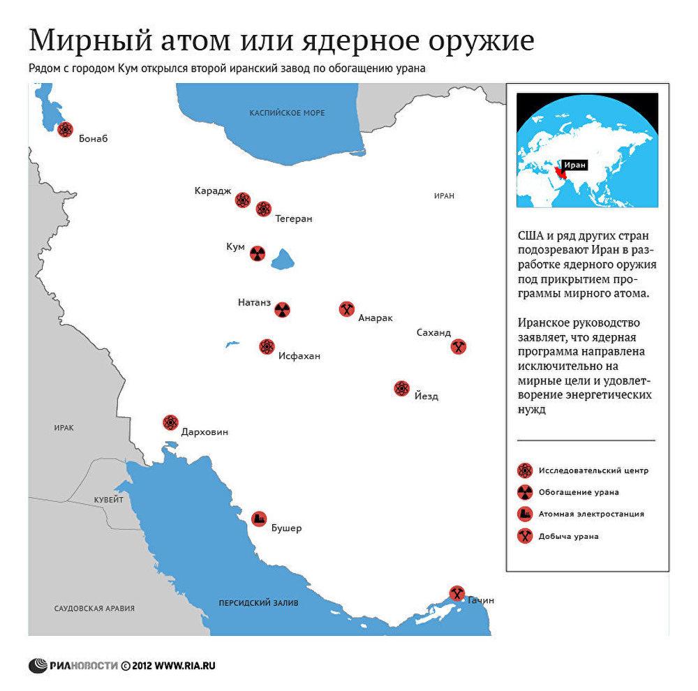 Иран построил второй завод по обогащению урана