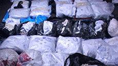 Почти 44 килограмма героина изъято в Таджикистане. Оперативное видео