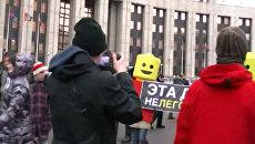 Митинг на Сахарова изнутри глазами корреспондента РИА Новости