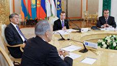 Саммит глав государств ОДКБ в Кремле. Архив