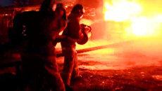 В Чите загорелось хранилище битумных отходов