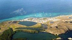 Вид на архипелаг в Карибском море Лос-Рокес. Архивное фото