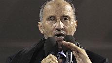 Председатель ПНС Ливии Мустафа Абдельджалиль. Архив