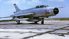 Истребитель МиГ-21 упал в Индии