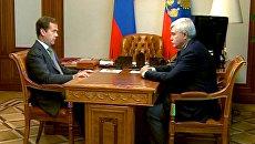 Медведев объяснил, почему видит Полтавченко на посту главы Петербурга
