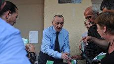 Кандидат в президенты Республики Абхазия Александр Анкваб