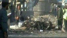 8 человек погибли в результате взрывов в Кабуле. Видео с места ЧП