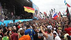Десятый юбилейный фестиваль Нашествие 2011. Архивное фото