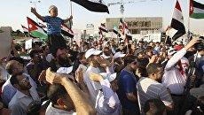 Массовые демонстрации в сирийских городах