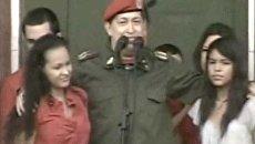 Чавес впервые после серьезных операций вышел к своему народу