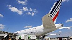 Самолет Airbus 380. Архив