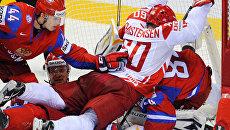 Сборная России по хоккею обыграла Данию на ЧМ в Словакии