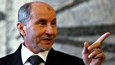 Глава переходного Национального совета Мустафа Абдель Джалиль