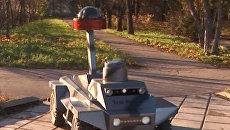 Роботов в роли охранников, водолазов и массажистов показали в Москве