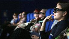 Зрители в кинозале