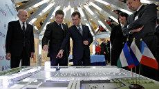 Дмитрий Медведев посетил выставку Межнациональное согласие в республике Башкортостан