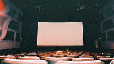 Пустой зал кинотеатра. Архивное фото