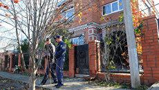 Частный дом в станице Кущевская Краснодарского края, где произошло убийство 12 человек