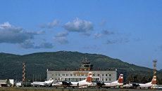 Аэропорт Южно-Сахалинска. Архивное фото