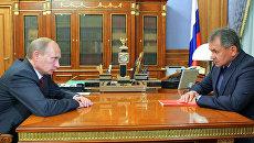 Шойгу рассказал Путину, чем теперь будут тушить лесные пожары